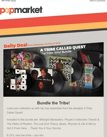A Tribe Called Quest Exclusive Vinyl Bundle – On Sale Now!