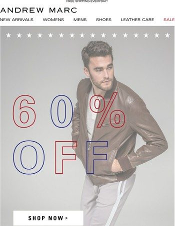 Your Labor Day Weekend Perfected > Shop 60% Off