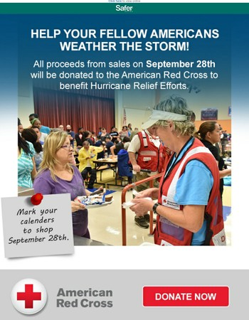 Support Hurricane Relief Efforts