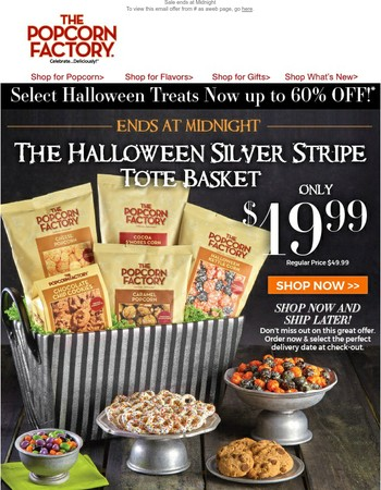Today Only! Halloween Treats Now 60% Off