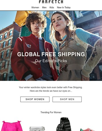 Free Shipping | Find a new style pick-me-up