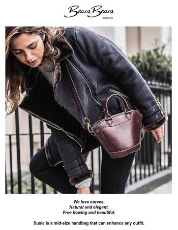 We love curves : Susie Handbag