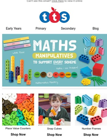 Maths Manipulatives to support every scheme