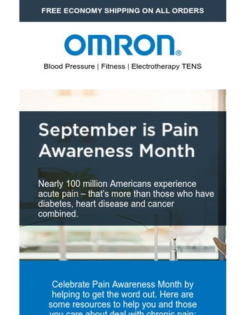Spread the Word – Our Best Articles for Pain Awareness Month