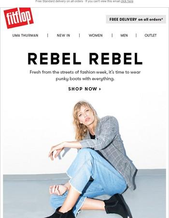 New in: Rebel Chic