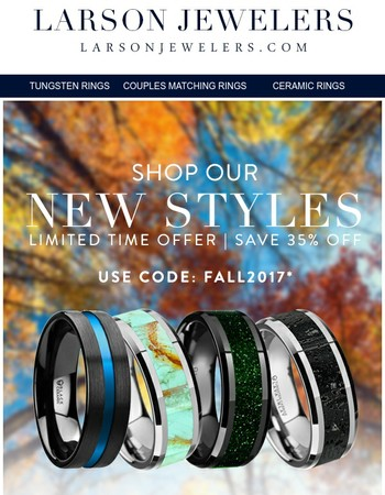 Larson Jewelers Newsletter