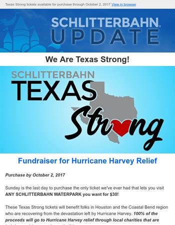 Texas Strong Tickets Still Available for Purchase