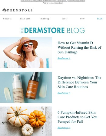 Blog: 6 Pumpkin-Infused Skin Care Products to Try This Fall
