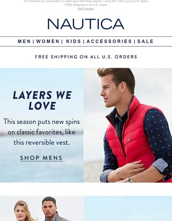 Brand New Layers For Fall + 25% Off