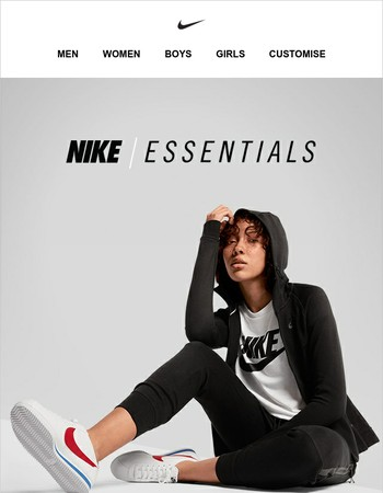 Live in Layers: Nike Essentials