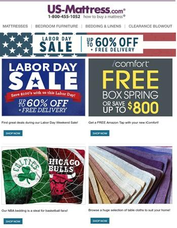 Still Time To Shop America's #1 Labor Day Furniture Sale