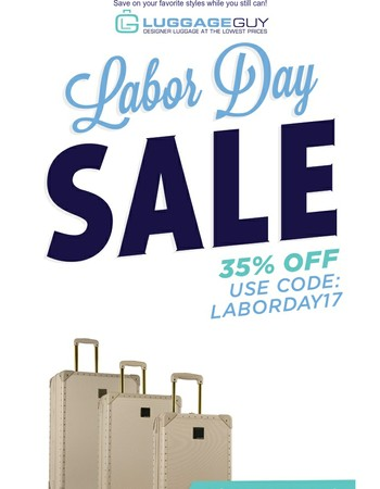 35% Off + Free Shipping Ends Tomorrow
