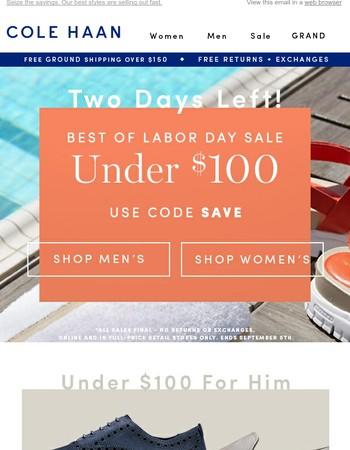 BIG DEAL. 450+ Styles Under $100