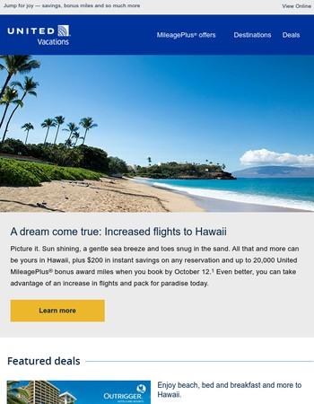 Five Hawaiian islands, one great sale
