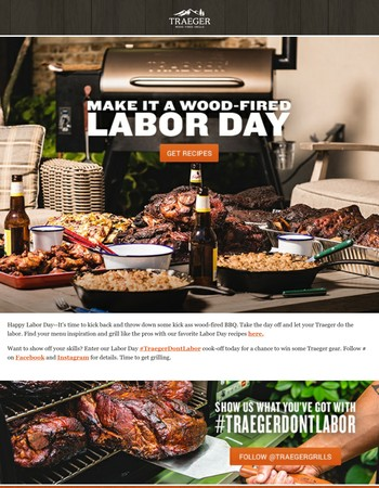 Make It a Wood-Fired Labor Day