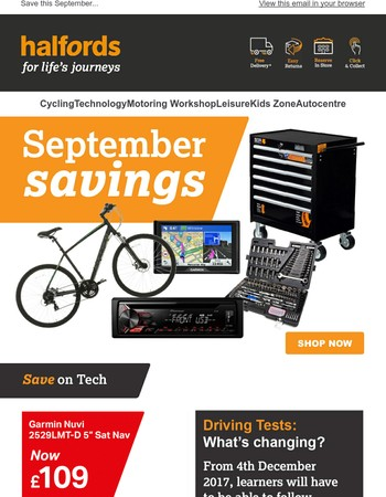 Our all-new Autumn offers have just landed