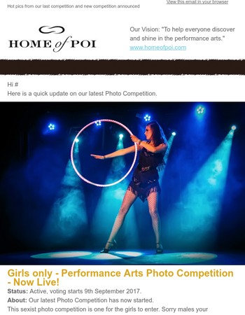 Girls only Photo Competition