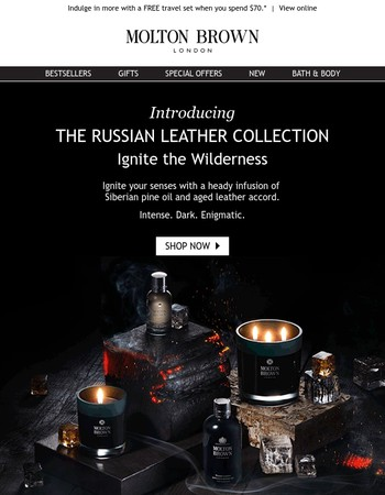 NEW | The Russian Leather Collection