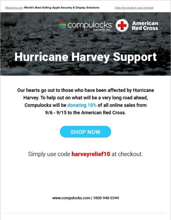 Join Us: Hurricane Harvey Relief