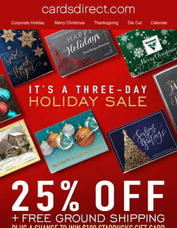 Early Holiday Sale + Giveaway Starts Now!