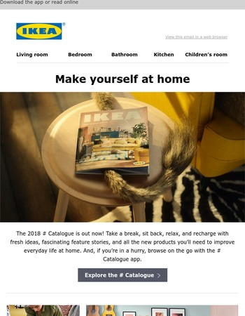 The new IKEA Catalogue is out now