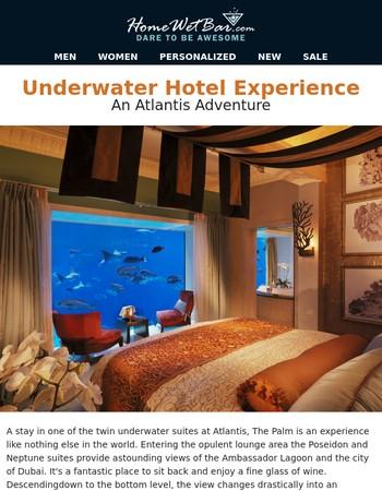 Underwater Hotel Experience