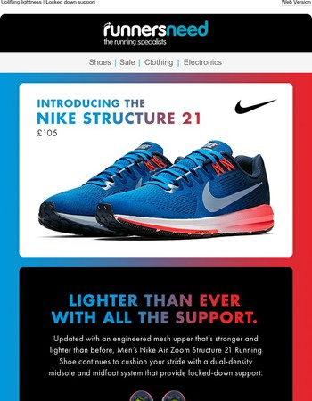Say hello to the Nike Structure 21