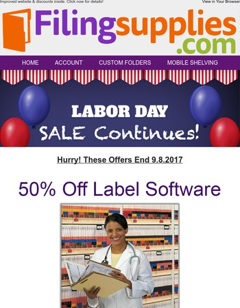 Last Call for Labor Day Promotions!