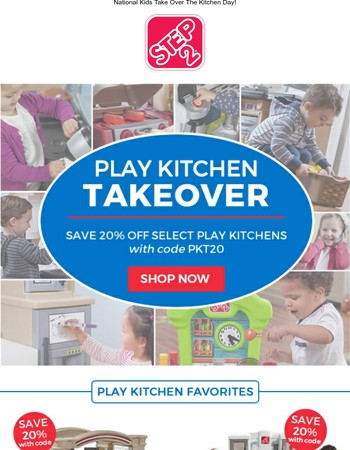 Play Kitchen Coupon Code Inside!