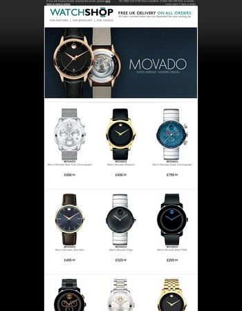 Movado - Unique and Iconic Watches