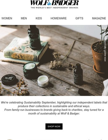 Sustainability September